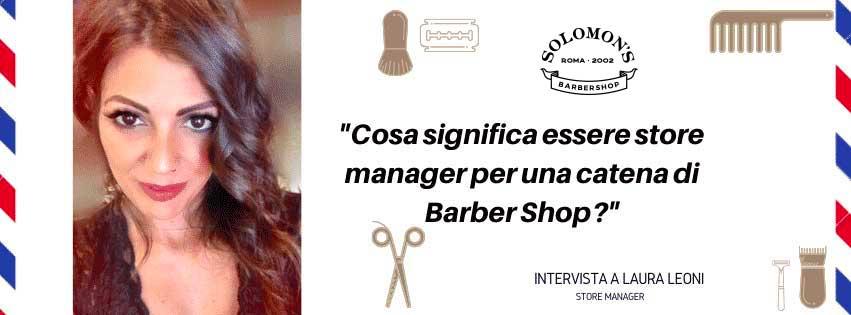 Essere store manager nel settore barberia