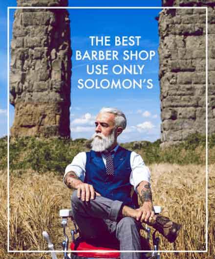 Solomon's shop banner