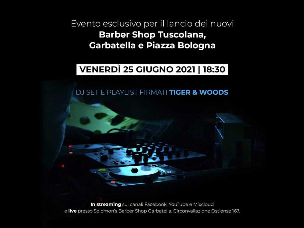 Evento barbershop Tuscolana Garbatelle pizza Bologna