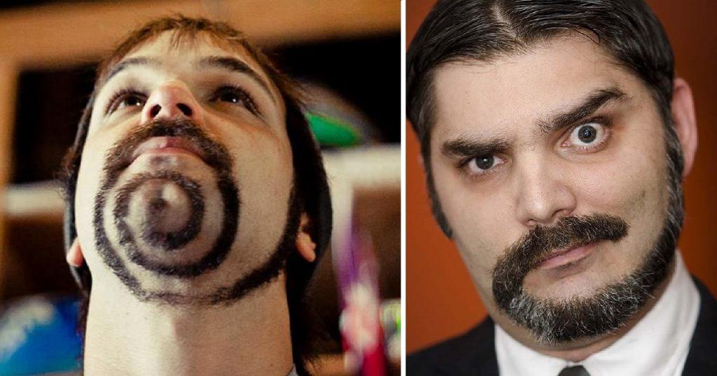 barba coda di scimmia